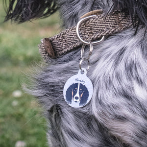 Personalised Springer Spaniel Dog ID Tag