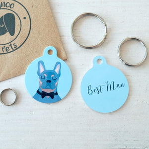 Best Man Dog Collar Tag  - Hoobynoo - Personalised Pet Tags and Gifts