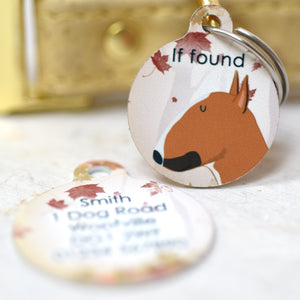 Dog Tag - Autumn Woodland