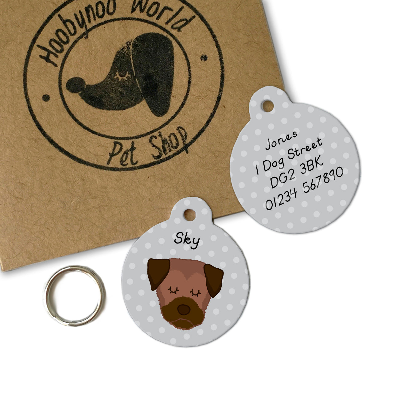 pet tags that comply with UK law