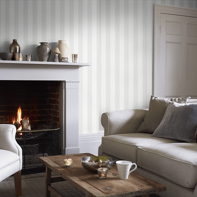 Glastonbury Stripe Wallpaper