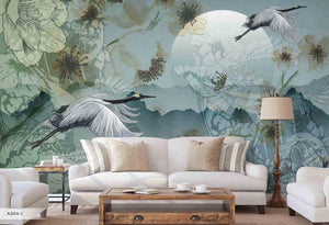 Flying Stalk Mural