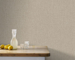 Chenille Bronze Wallpaper
