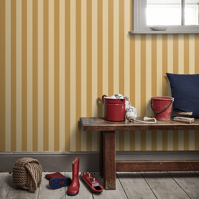 Regatta Stripe Wallpaper
