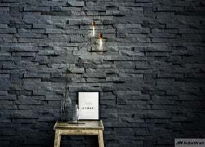 Natural Cut Stone Wallpaper
