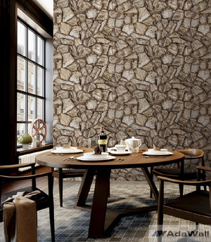 Stone Pattern Wallpaper