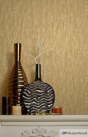 Embossed Feather Wallpaper