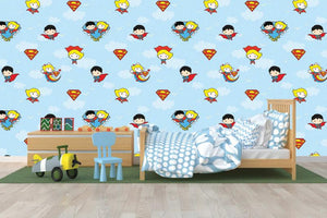 Superman & Friends Wallpaper