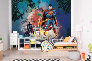 Superman & Justice League Mural