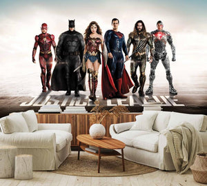 The Justice League Mural