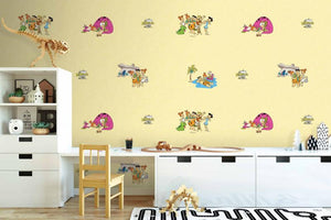 Yellow Flintstones Wallpaper