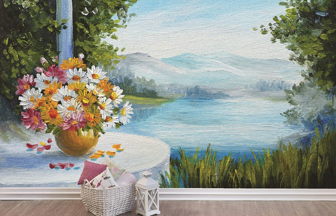 Lake View Painting