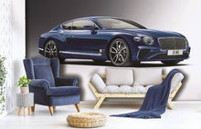 Bentley Continental Blue