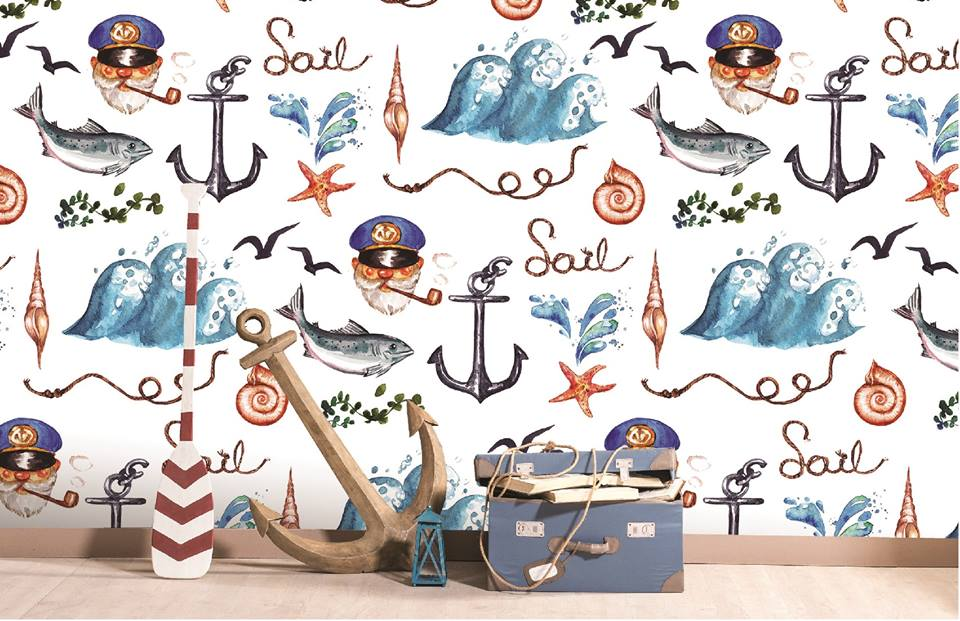 Kids Nautical Pattern