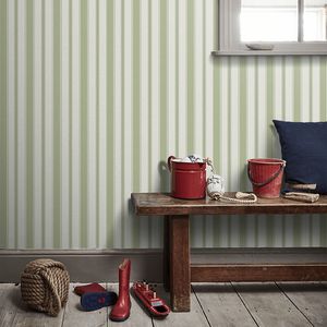 Cambridge Stripe Wallpaper