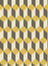Black and Yellow Delano Wallpaper
