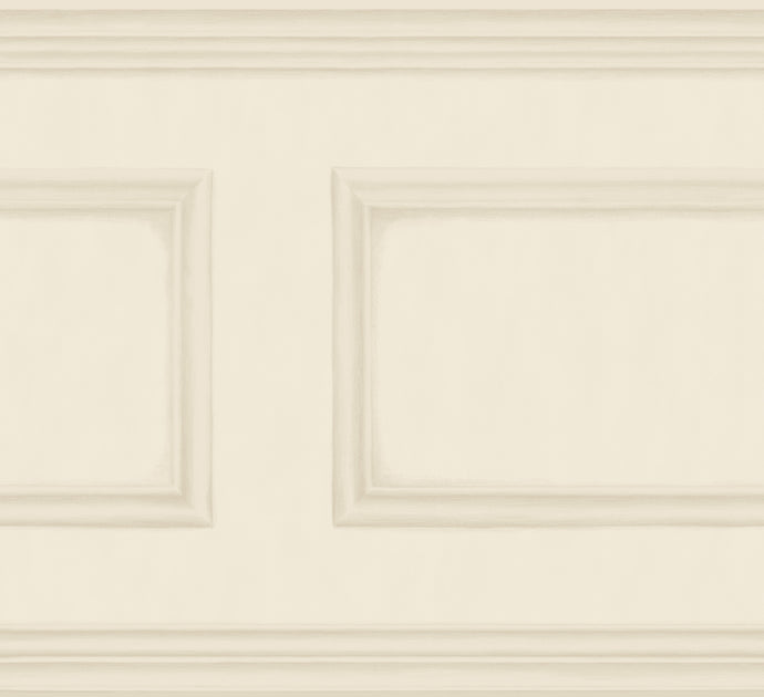 Cream Library Frieze Wallpaper