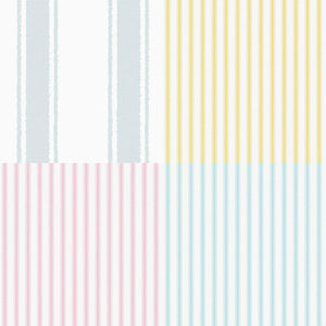 Classic Kids Stripe Wallpaper