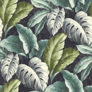 Botanical tropical leaves pattern wallpaper tree-leaf textured motif