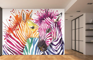 Colourful Zebras