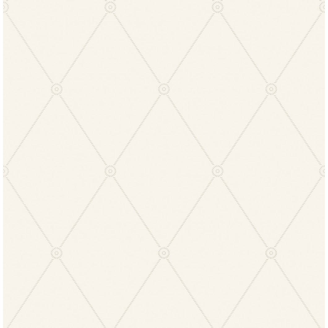 Large Georgian Rope Trellis Wallpaper