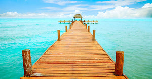 Summer jetty