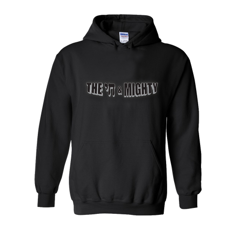 The Chai & Mighty Logo Black Hoodie