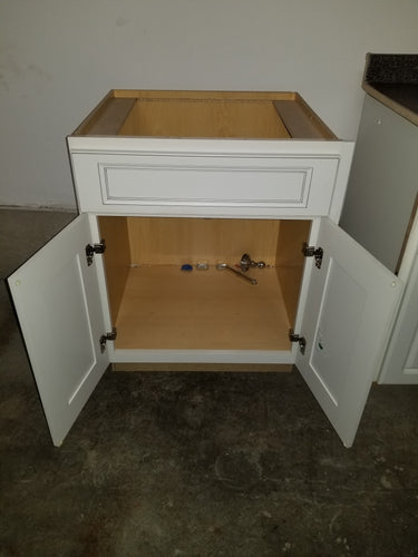 Ivory Finish  Bath Vanity