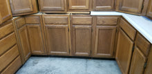 13 Piece Oak kitchen and appliances