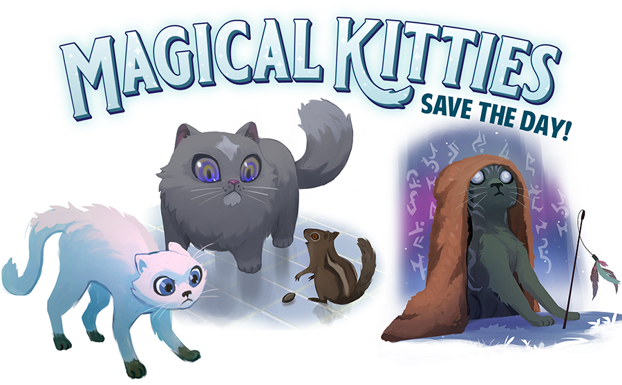 Magical Kitties Save the Day