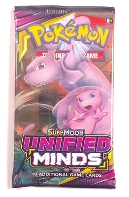 Pokemon TCG SM11, Unified Minds (1) Booster pack