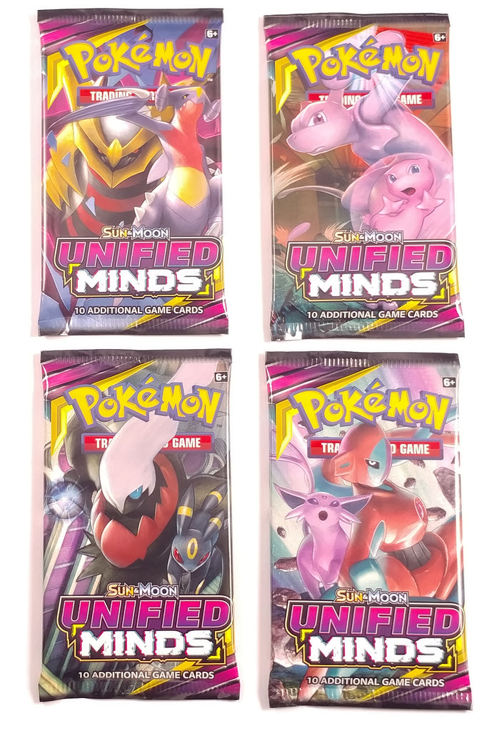 Pokemon TCG SM11, Unified Minds (4) Booster pack