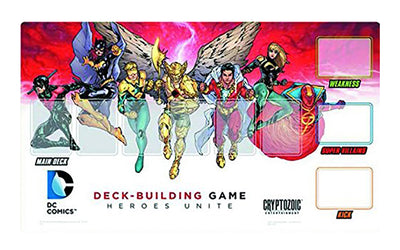 Dc Comics Deck-Building Game, Heroes Unite Playmat, 14