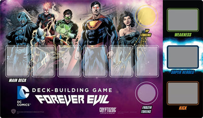 Dc Comics Deck-Building Game, Forever Evil Playmat, 14