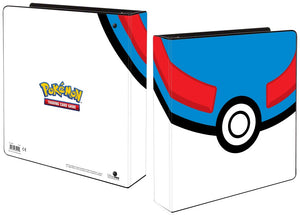 "Pokemon Great Ball 2"" ring Binder"
