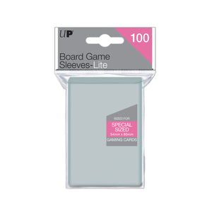 Board Game Sleeves Lite Special Sized 54 x 80mm (100 sleeves)