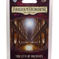 Arkham Horror LCG City of Archives Mythos Pack Expansion