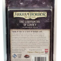 Arkham Horror LCG The Labyrinths of Lunacy Scenario Pack