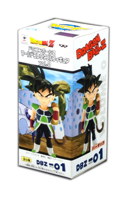 Dragon Ball Z World Figure Vol 0, Bardock DBZ-01