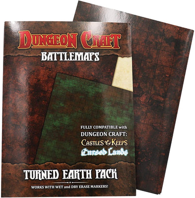 Dungeon Craft Battlemaps Turned Earth Pack