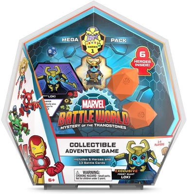 Marvel Battleworld Mega Pack Series 1 Frost Giant Loki