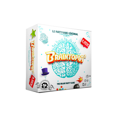 Braintopia 2 The Brain Party Game (Multilingual)