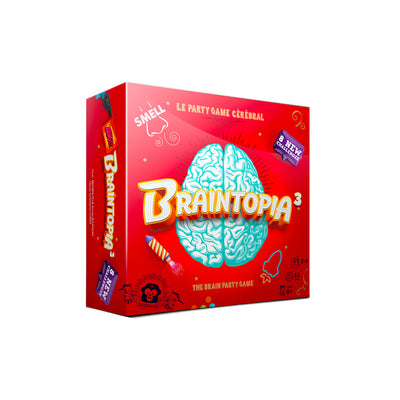 Braintopia 3 The Brain Party Game (Multilingual)