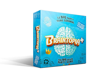 Braintopia + The Brain Party Game (Multilingual)