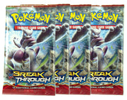 Pokemon XY8, Breakthrough  4 Booster pack