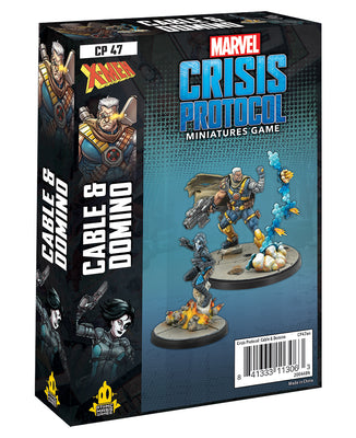 Marvel Crisis Protocol Cable & Domino Character Pack