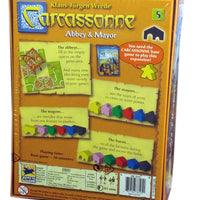 Carcassonne Expansion 5, Abbey & Mayor