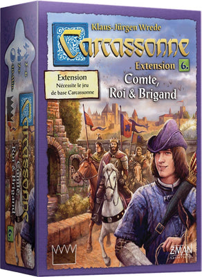 Carcassonne Extension 6, Compte, Roi & Brigands (French Edition)