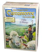 Carcassonne Expansion 9, Hills & Sheep