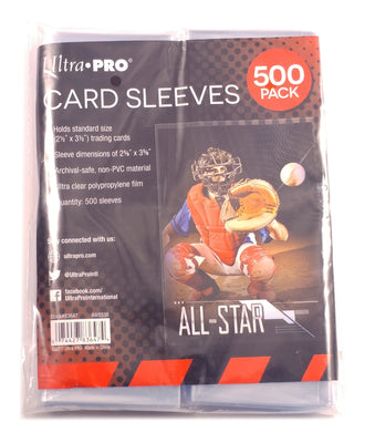 Ultra-Pro Soft Sleeves, 2 1/2